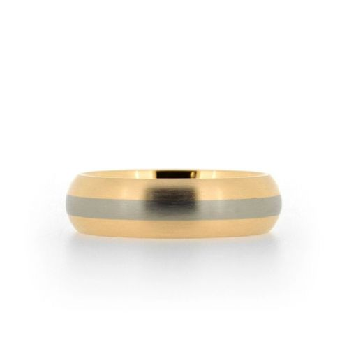 Inlay Wedding Ring
